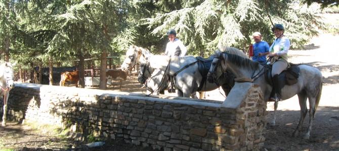 Guejar Sierra horse riding to Jerez Marquesado.