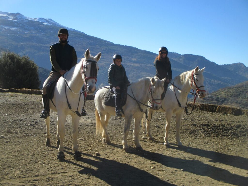 Horse Riding Sierra Nevada